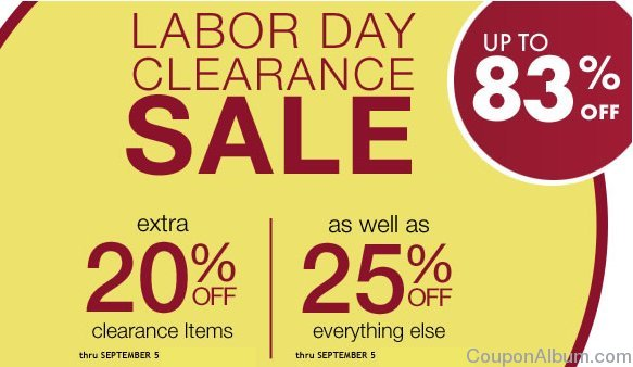 ross simons labor day sale
