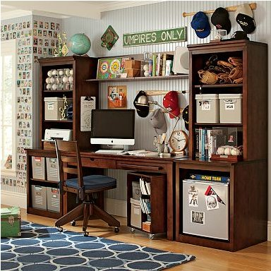 stuff-your-stuff desk system