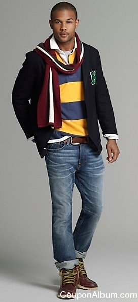 tommy hilfiger men fall look