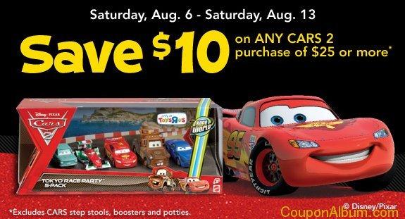 toys r us Cars 2 toys