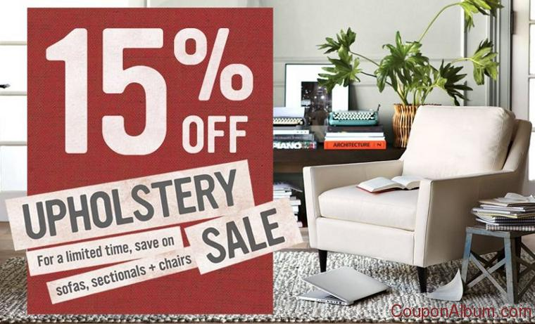 west elm upholstery sale