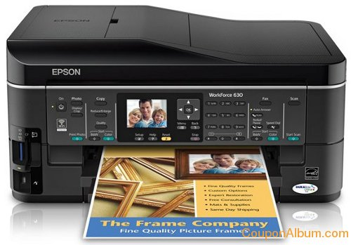 Epson WorkForce 630 All-in-One Printer