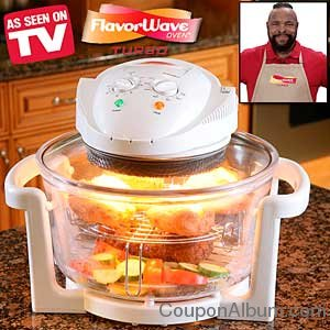 Flavorware turbo oven