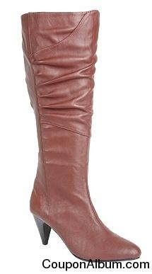 Jackie Wide Calf High Heel Boot by Comfortview