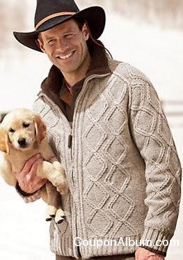 Men's North Country Zip Cardigan