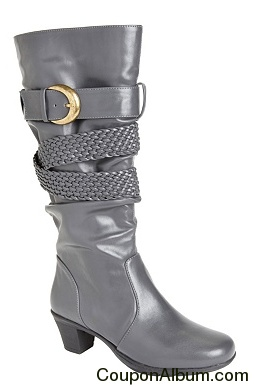 Mindy Wide Calf Boot by Comfortview