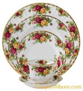 Old Country Roses 5-Piece Place Setting