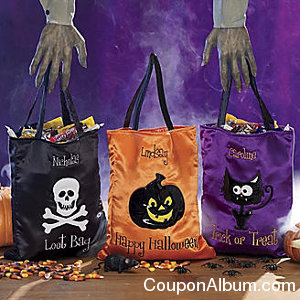 Trick or Treat Bag Personalized