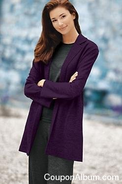 Women's Nonstop Washable Merino Knit Jacket