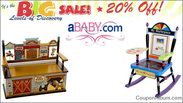 ababy sale on levels of discovery