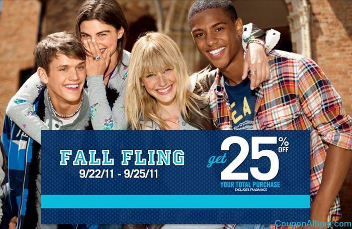 aeropostale fall filling event