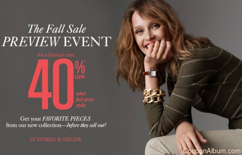 ann taylor loft's fall sale preview