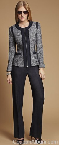 anne klein fall suit