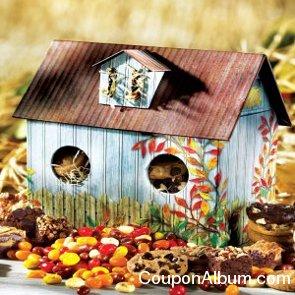 autumn birdhouse box