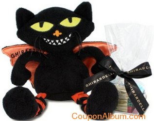 bat cat halloween plush