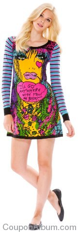 Betsey johnson sweater dress