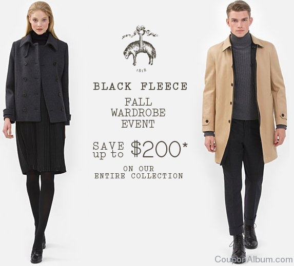brooks brothers black fleece collection