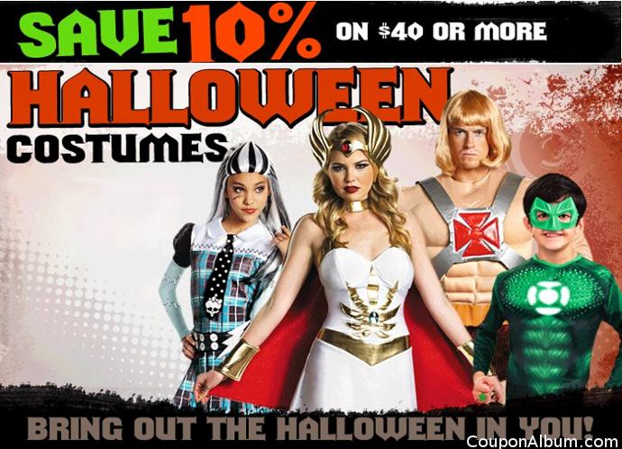 buycostumes halloween coupon