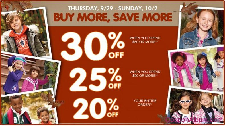 childrens place buy more-save more event