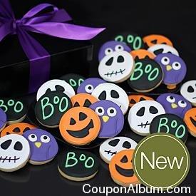 deluxe hand-decorated halloween cookies