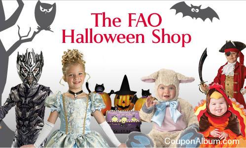 fao schwarz halloween costumes