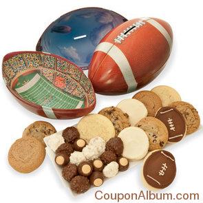 football gift tin