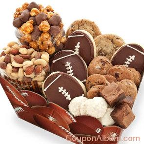 football snack box