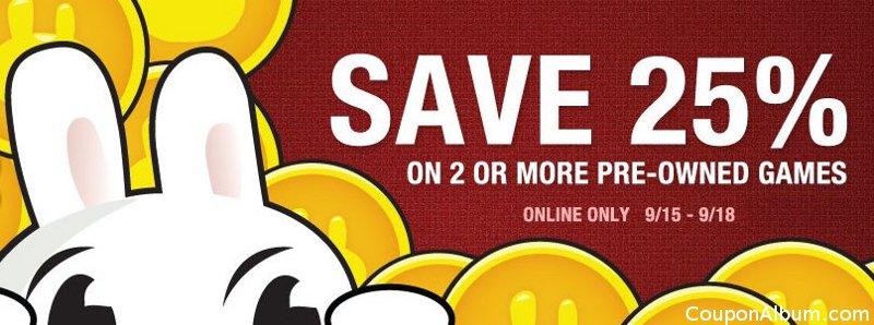 game stop coupon