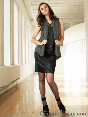 gap leather skirt