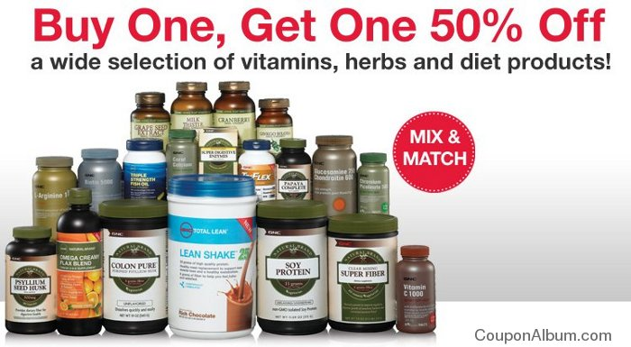 gnc bogo offer