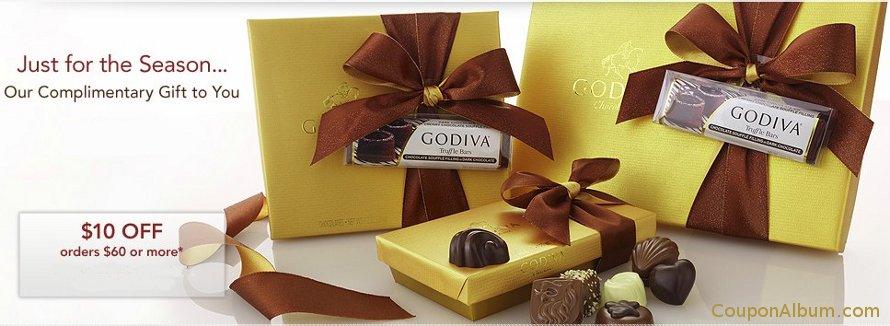 godiva fall chocolates gifts