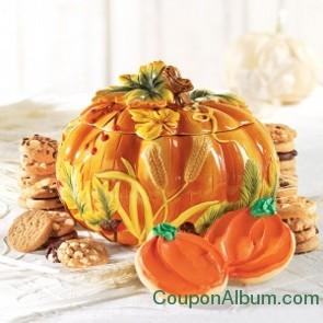 gourmet gourd cookie jar