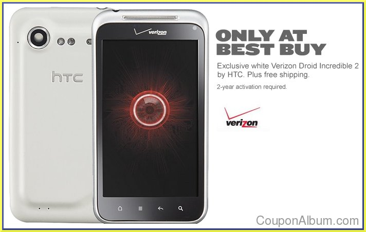 htc incredible 2 white