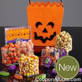 jack o lantern candy tote