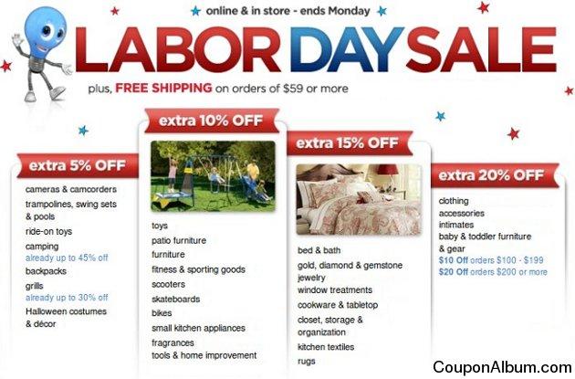 kmart labor day sale
