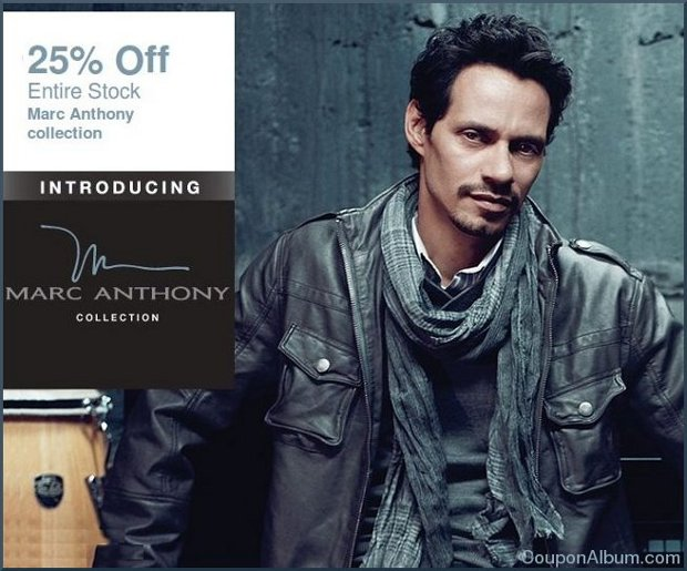 kohls marc anthony collections