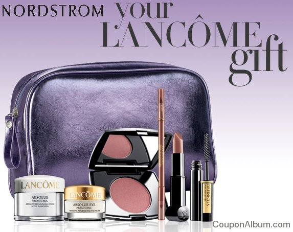 Nordstrom Coupon: Get Lancome Gift + Free Shipping on $39.50 Lancome