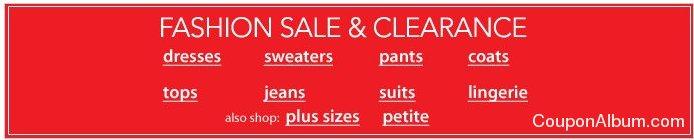macy's fashion sale