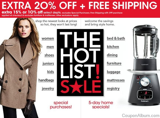 macys hot list sale