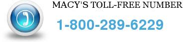 macys toll free number