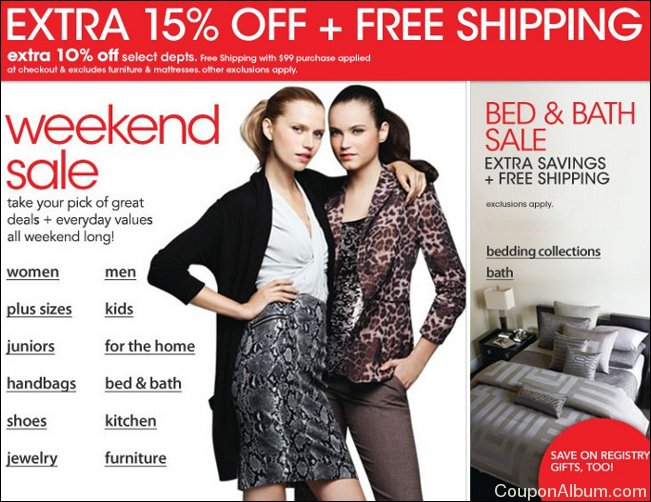 macy's weekend sale