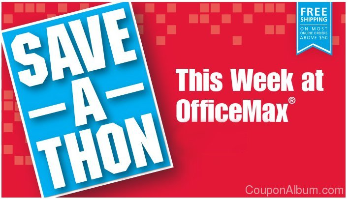 office max save-a-thon event