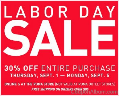 puma labor day sale