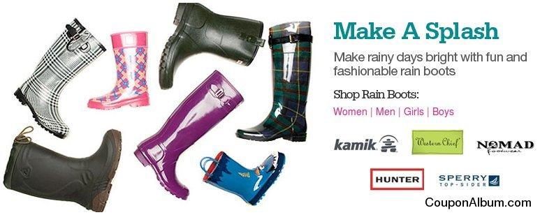 shoes.com rain boots