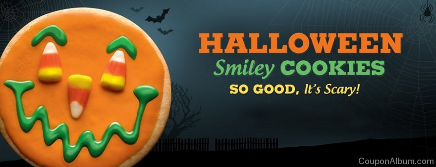 smiley cookie halloween treats