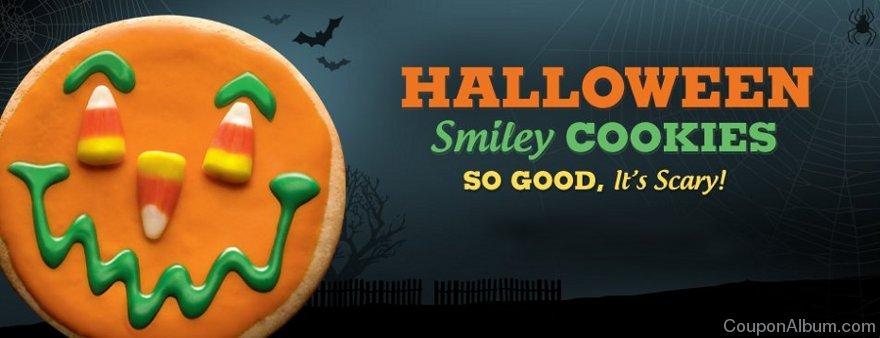 smiley cookie halloween treats