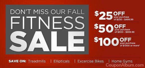 sports authority fall fitness sale