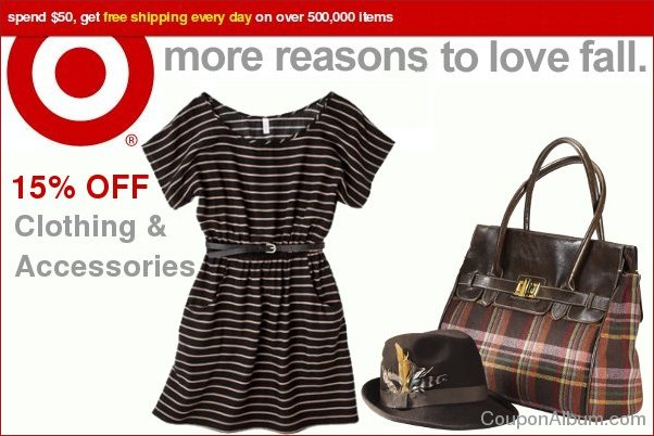 target clothing and accessories