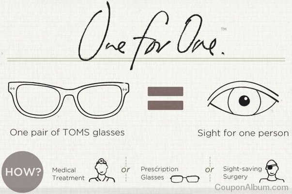 toms eyewear one for one