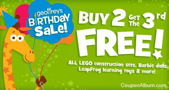 toys r us geoffreys birthday sale